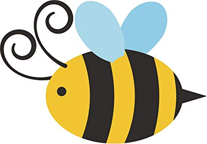 X free clip art. Bumblebee clipart simple