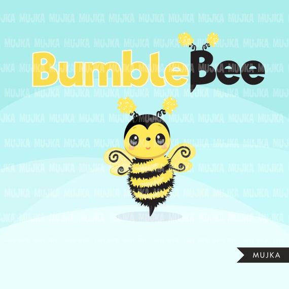 Cute florals beehive honey. Bumblebee clipart summer