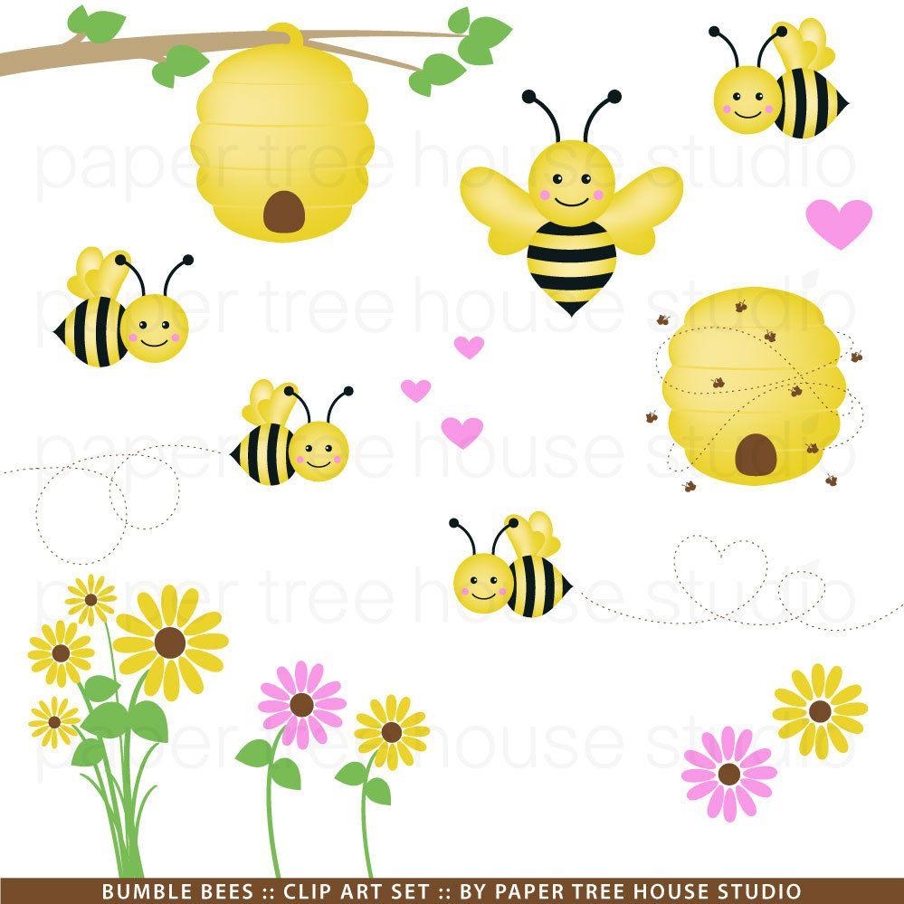 Bumblebee clipart sunflower. Bumble bee clip art