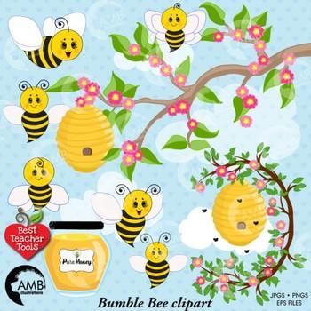 Bee clipart teacher. Bumble writing teaching resources