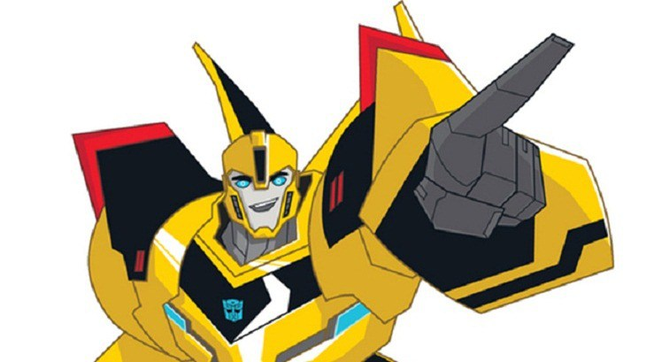 Bumblebee clipart transformers. First look in the