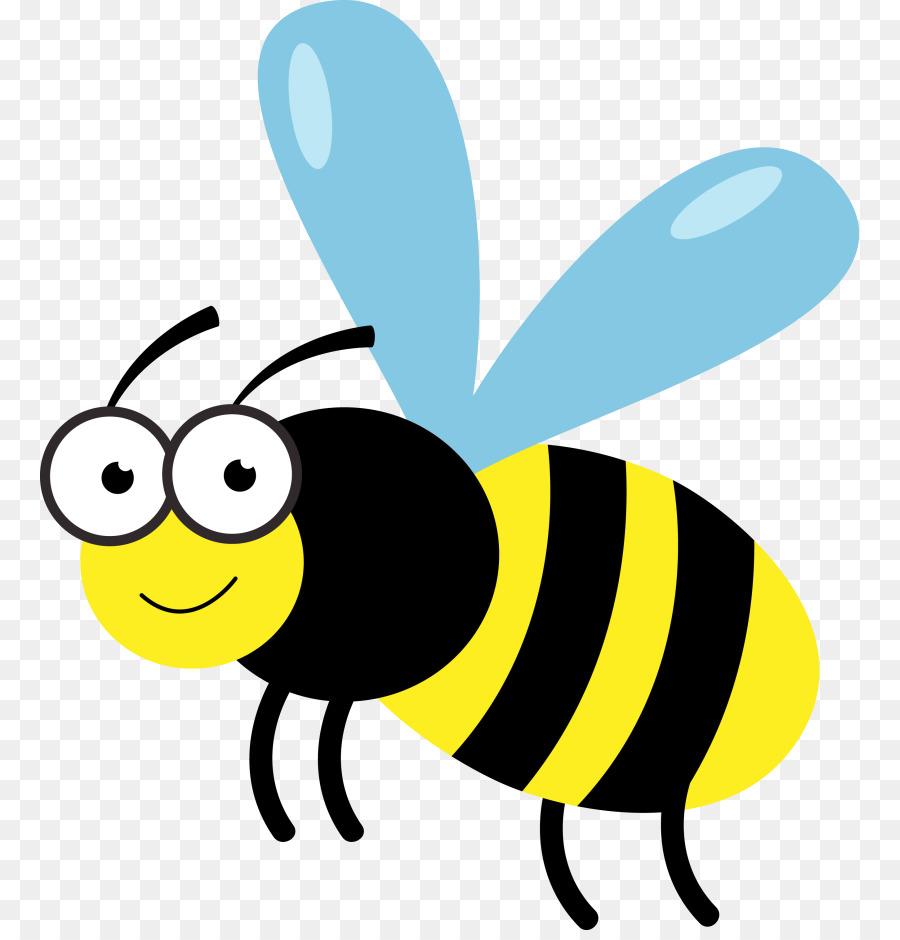 Honey bee clip art. Bumblebee clipart transparent background