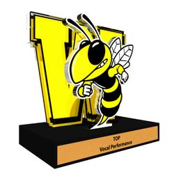 Bumblebee clipart trophy. Custom glass etching photos