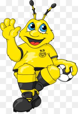 Bumblebee clipart trophy. Westfalenstadion borussia dortmund borusseum