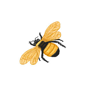 Bumblebee clipart vintage. Bee graphics group free