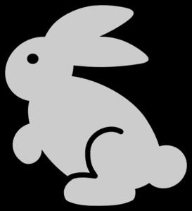 Clip art at clker. Clipart bunny
