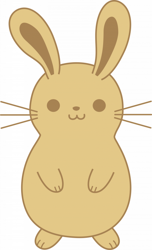 Bunny clipart adorable. Rabbits drawing at getdrawings