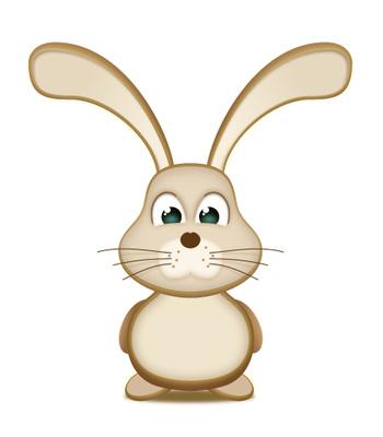 bunny clipart cartoon