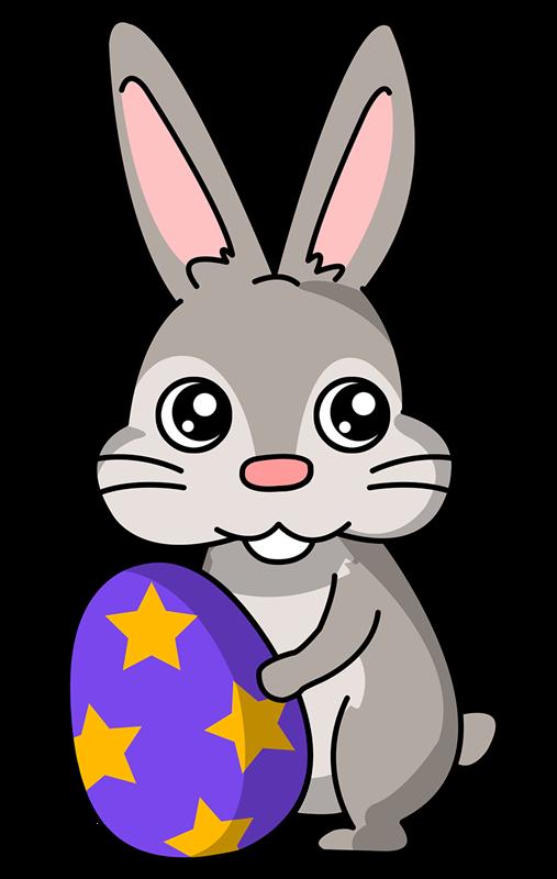 Easter clip art bunny. Free clipart rabbit