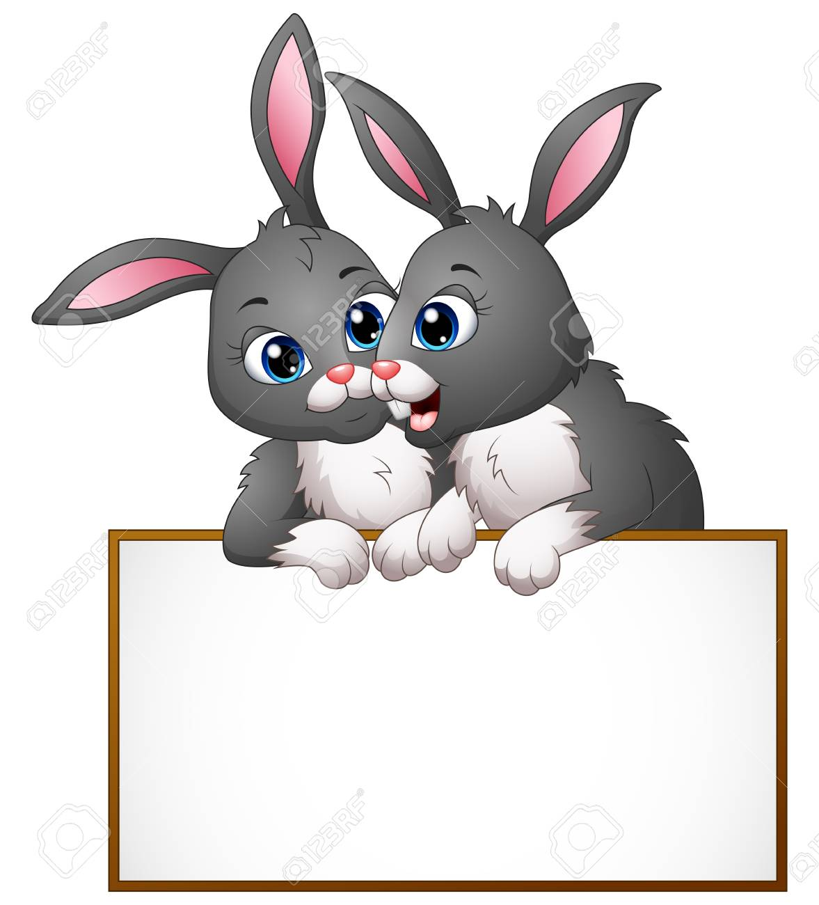 Clipart bunny couple. Free easter download clip