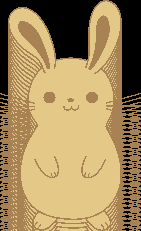 Desert clipart animated. Cute bunny rabbit