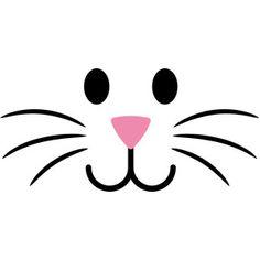 Clipart bunny. Face kid ideas for