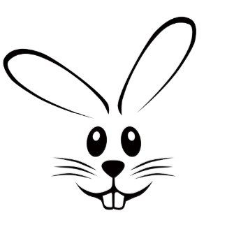 Faces clipart easter bunny. Face kid ideas for