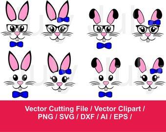 Bunny svg easter rabbit. Bunnies clipart face