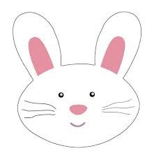 Easter bunny day pinterest. Bunnies clipart face