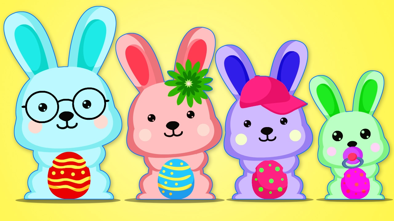 Bunny clipart family. Easter finger nursery rhymes