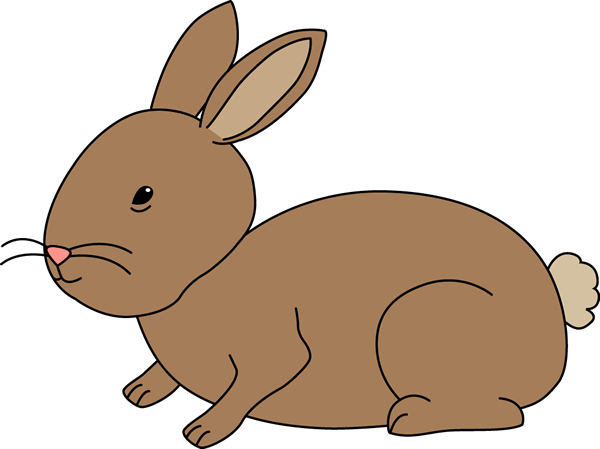Clipart bunny. Clip art images brown
