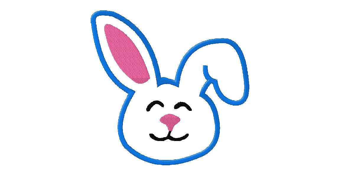 Easter bunny face hd. Bunnies clipart head