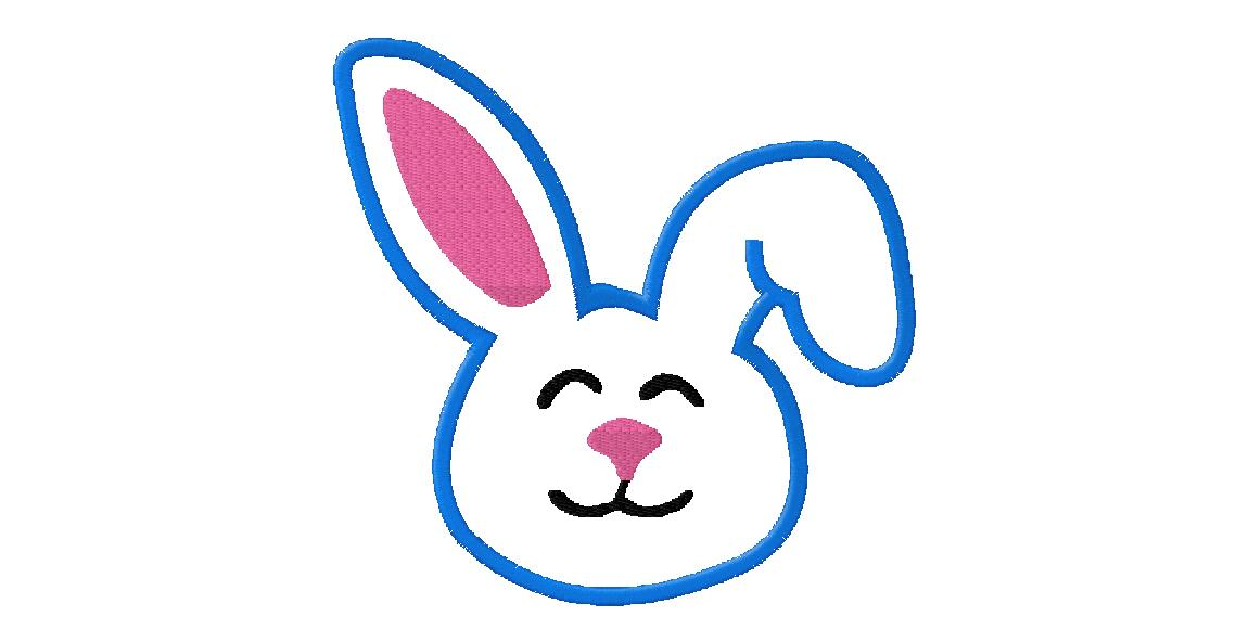 Face clipart easter bunny. Head drawing free download