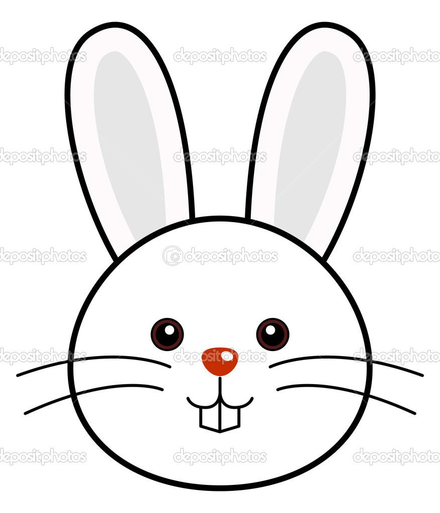 bunny clipart modern