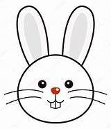Bunny face clip art. Bunnies clipart head