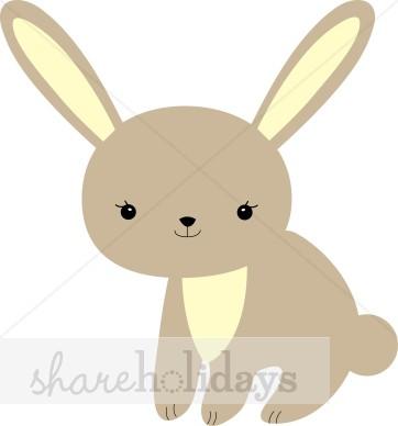 Bunny clipart modern. Baby clip art easter