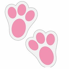 Paws clip art misc. Bunny clipart paw