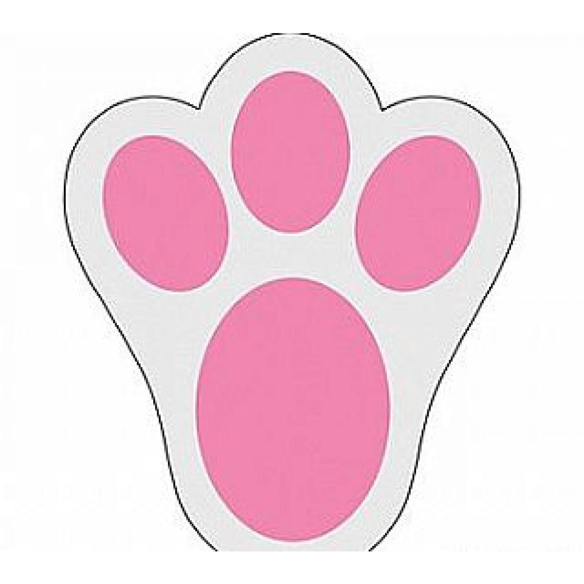 Clipart rabbit print. Free bunny footprints cliparts