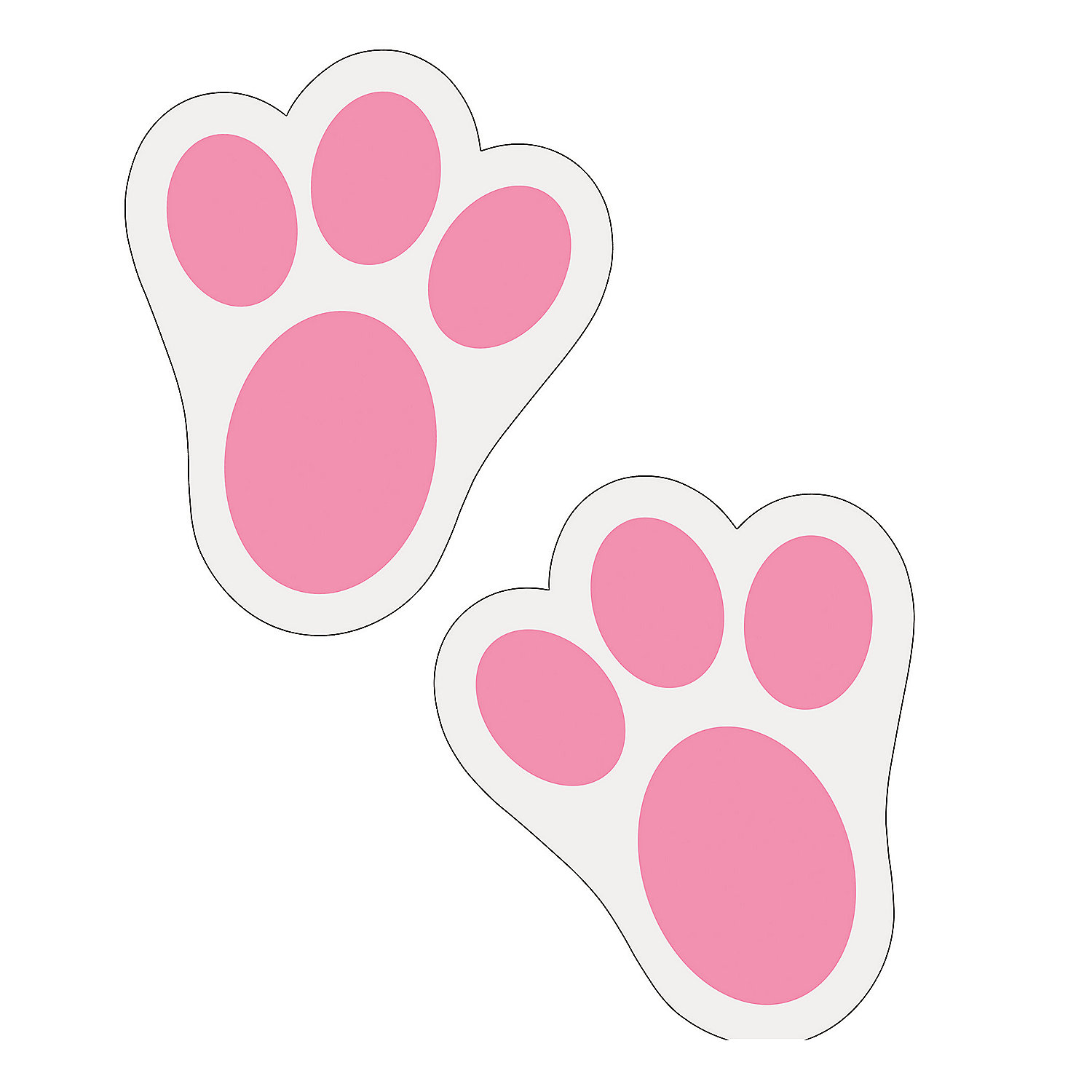 Free footprints cliparts download. Pawprint clipart bunny