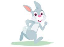 Free rabbit clip art. Character clipart bunny