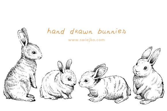 Bunnies rustic