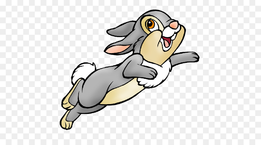 Easter bunny rabbit show. Bunnies clipart thumper