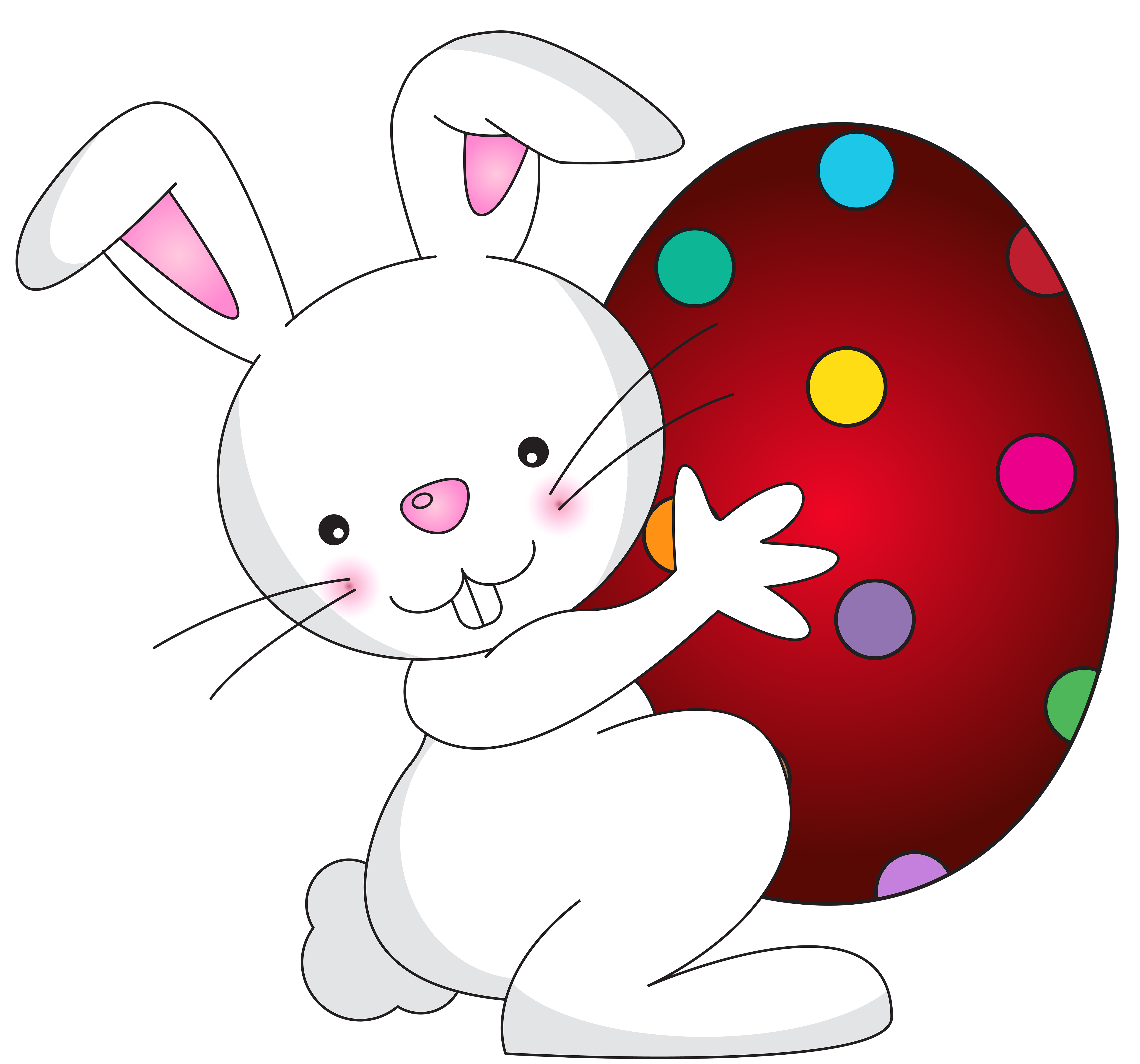 Clipart bunny halloween. White easter transparent png