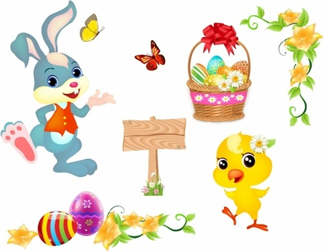 Bunny clipart vector. Easter free download for