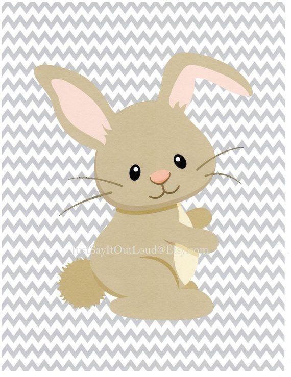 Bunny woodland. Bunnies clipart transparent free