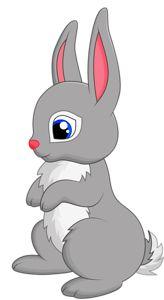 Cute cartoon png clip. Bunny clipart adorable
