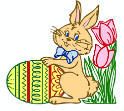 Bunny clipart colored. Free easter eggs public