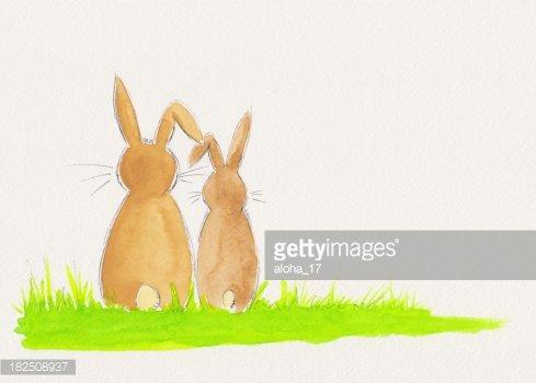 Premium clipartlogo com . Clipart bunny couple