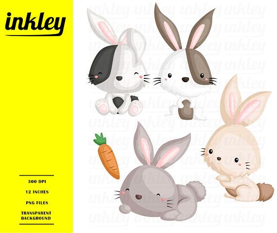 Bunny clipart cute bunny. Rabbit clip art png