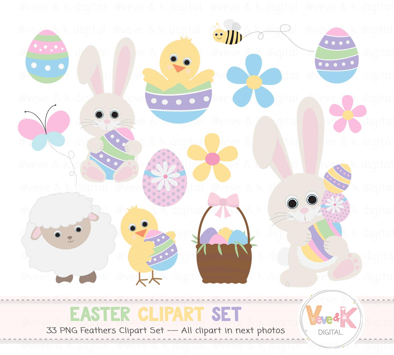 E design bundles graphics. Easter clipart bunny