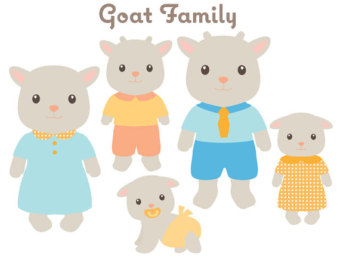 Animal clip art rabbit. Bunny clipart family