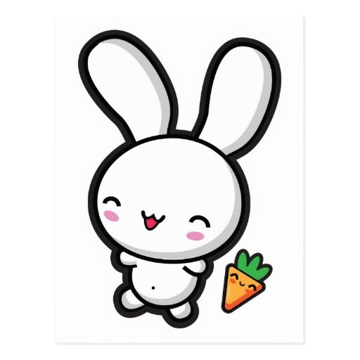 best images on. Bunny clipart kawaii