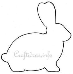 Bunny clipart outline. In clip art google