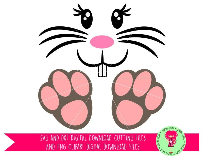 Silhouette images at getdrawings. Bunny clipart paw