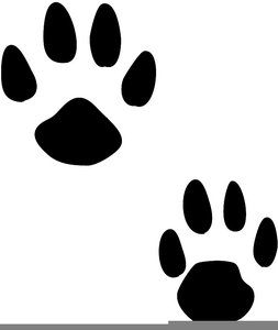 Bunny clipart paw. Pawprint free images at