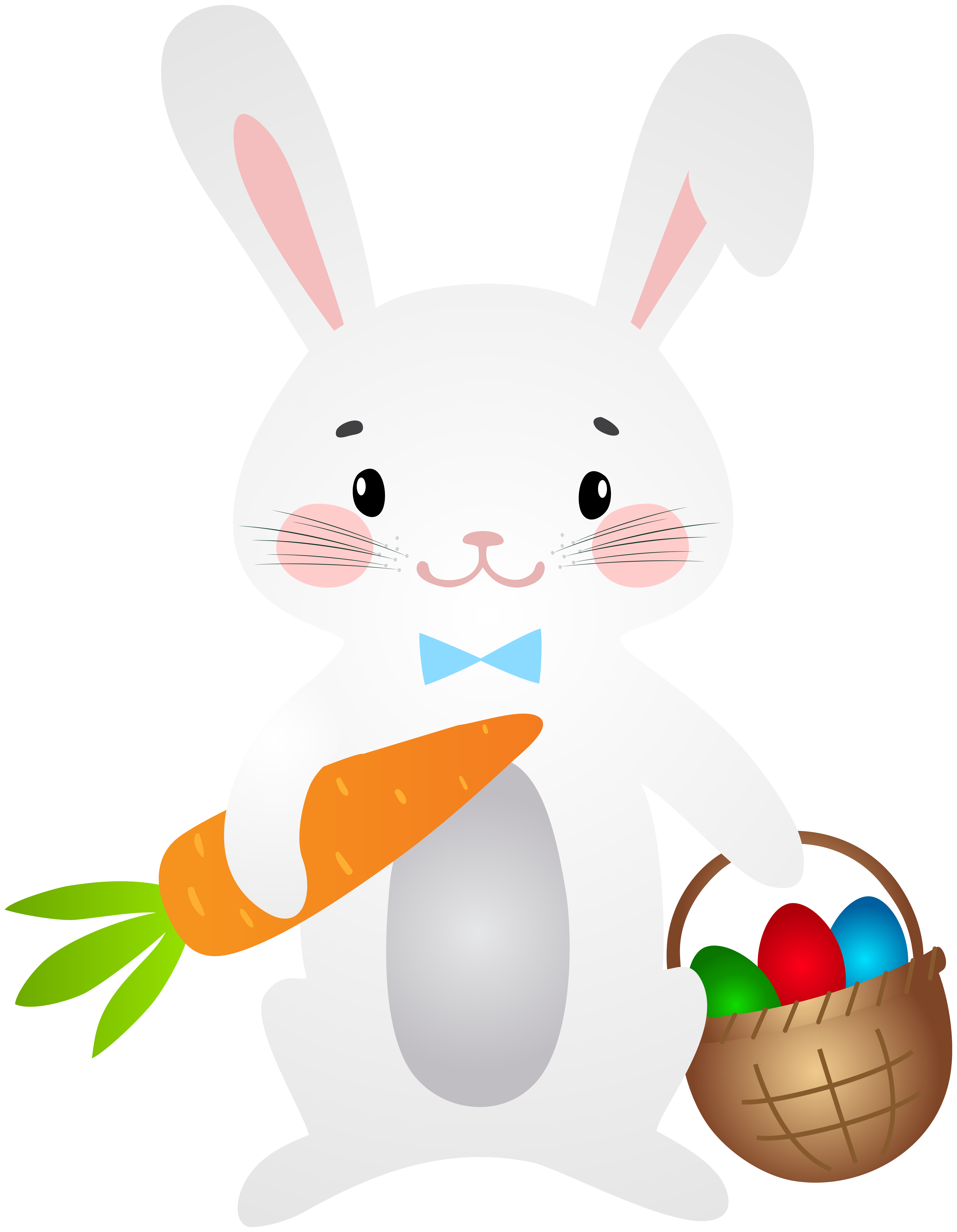 Bunny clipart swimming. Easter png clip art