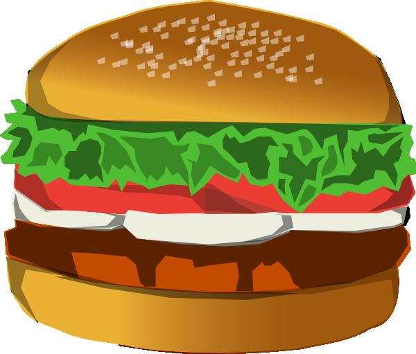 Hamburger clip art at. Burger clipart animasi
