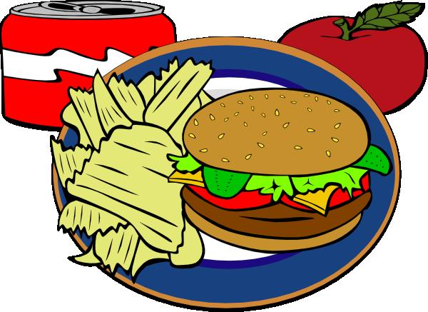 Burger clipart animasi. Fast food clip art