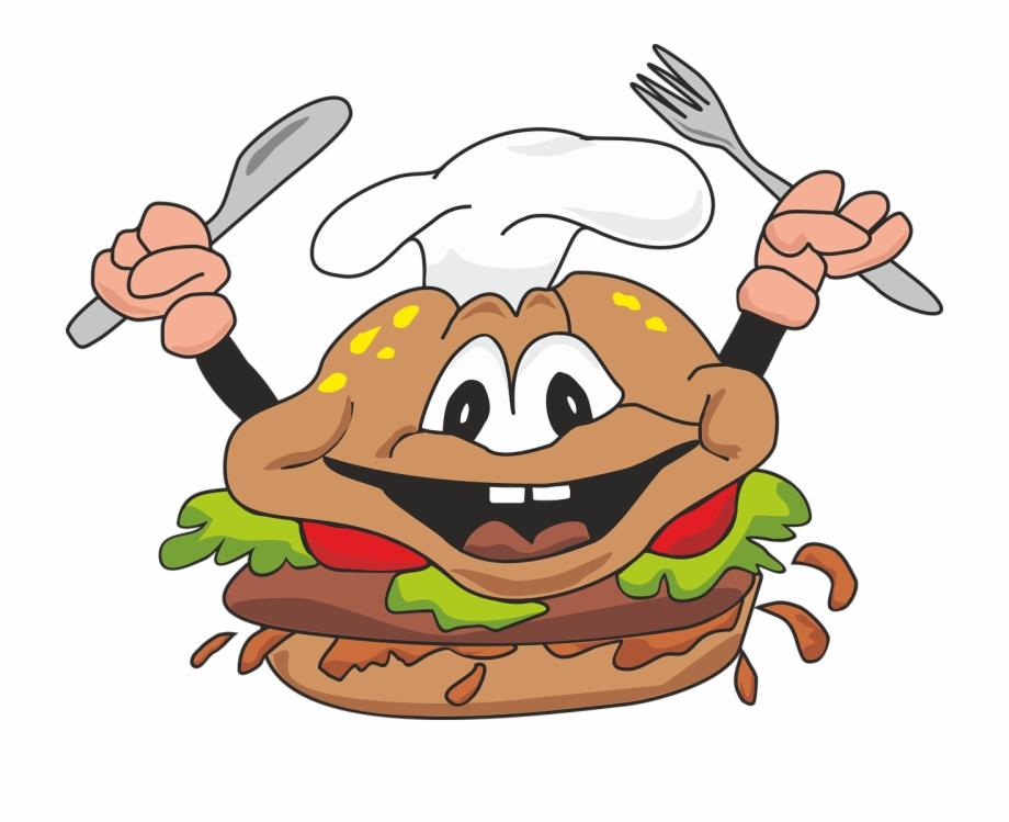 Burger clipart animasi. Cheeseburger fast food png