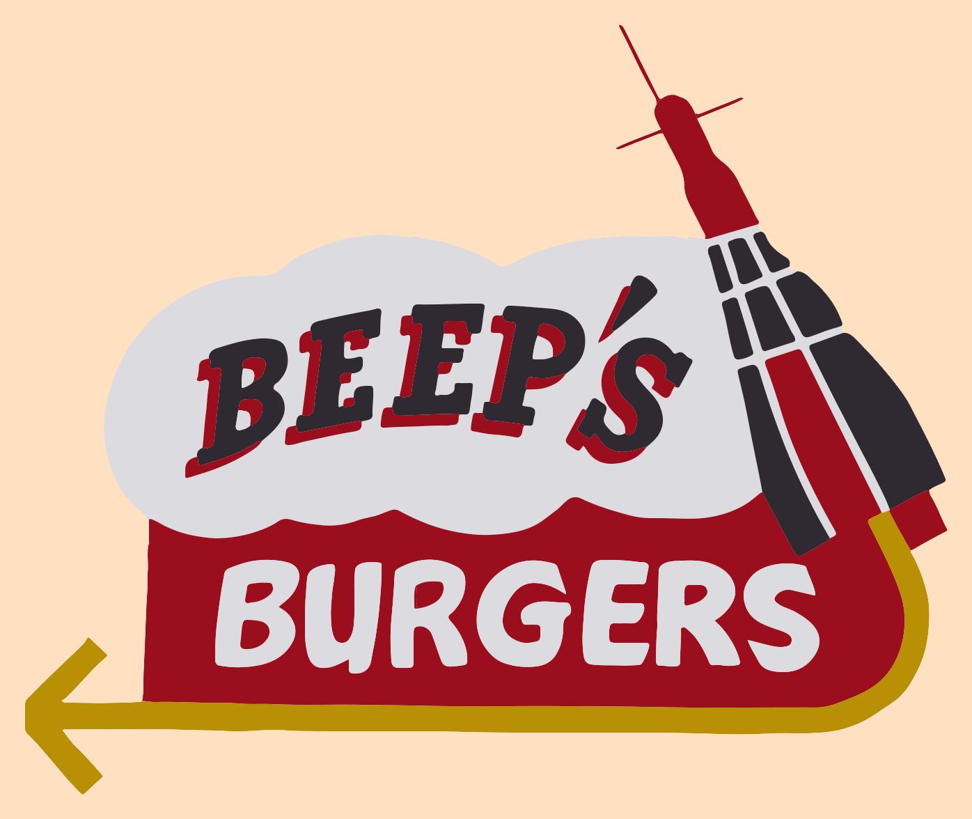 Beep s burgers . Burger clipart beef burger